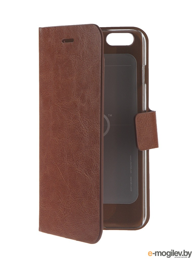 Чехол LAB.C Fantastic 5 Folio для iPhone 6 Plus Brown LABC-411-BW