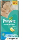 Pampers Active Baby 6 Extra Large 56шт