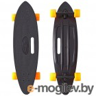 Y-SCOO Longboard Shark Black-Orange 409-B
