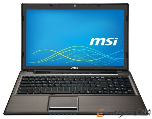 MSI CR61-017XBY 15.6/B950/2Gb/320Gb/HD3000/Dos/Black