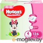 Huggies Ultra Comfort 4 Disney Girl 126шт