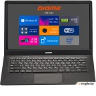 Digma EVE 1401 Atom X5 Z8350/2Gb/SSD32Gb/Intel HD Graphics 400/14.1/TN/HD (1366x768)/Windows 10 Home Multi Language 64/black/silver/WiFi/BT/Cam/9000mAh