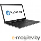 HP ProBook 470 G5 2VP93EA Silver Intel Core i5-8250U 1.6GHz/8192Mb/256Gb SSD/No ODD/nVidia GeForce 930MX 2048Mb/Wi-Fi/Bluetooth/Cam/17.3/1600x900/Windows 10 Pro 64-bit