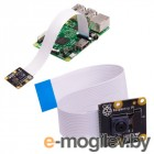Камера Raspberry Pi PiNoIR Camera v2 Retail,   Infrared camera, Sony IMX219 8-megapixel sensor, Supports 1080p30, 720p60 and VGA90 video modes, Cable 15 cm, Compatible with Raspberry Pi 1, 2, and 3 Raspberry Pi