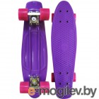 Скейты EcoBalance Cruiser Board Purple Red
