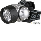 Фонарь ULTRAFLASH LED5351  налобн металлик 7led 3 реж 3xr03 пласт коробка