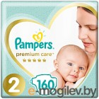 Подгузники Pampers Premium Care 2 New Baby (160шт)