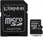 SDXC-micro Card 256GB Kingston SDCS/256GB Canvas Select + Adapter