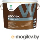 Антисептик для древесины Teknos Woodex Aqua Solid B1 (9л)