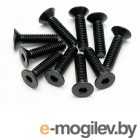 Крепеж. FLAT HEAD SCREW M4X15MM HEX SOCKET/10PCS