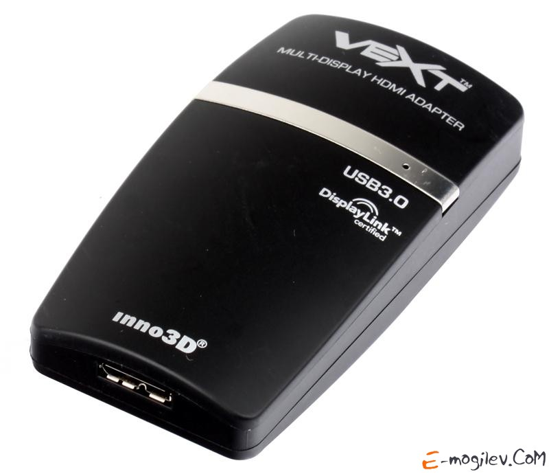 Графический адаптер Inno3D VEXT 3XD-DVI USB 3.0 to DVI Graphics Adapter Ret