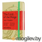 Блокнот Moleskine LIMITED EDITION LORD OF THE RINGS LELRMM710IS Pocket 90x140мм 192стр. линейка серый Isengard
