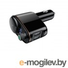 Baseus Locomotive Bluetooth MP3 Vehicle Charger Black CCALL-RH01