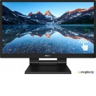 МОНИТОР 23.8 PHILIPS 242B9T/00 Black (IPS, Multi-touch, 1920x1080, 5 ms, 178°/178°, 250 cd/m, 50M:1, +DVI, +HDMI 1.4, +