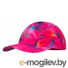 Кепка Buff Pro Run Cap Patterned R-Shining Pink / 117229.538.10.00