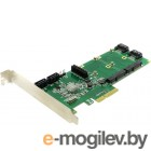 Espada (FG-EST14A-1-BU01) (ОЕМ)  PCI-Ex4, SATA 6Gb/s, 4port-int+ 2 mSATA