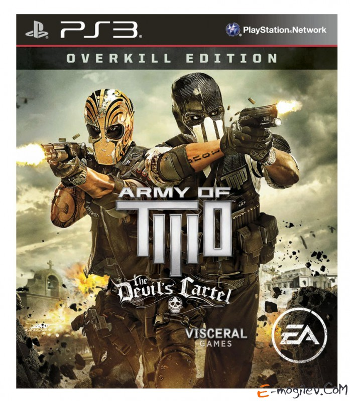 Игра для PS3 Sony Army of Two: The Devil's Cartel. Overkill Edition английская версия (RUS)