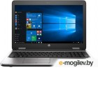 HP ProBook 650 G2 15.6(1920x1080 (матовый))/Intel Core i5 6200U(2.3Ghz)/8192Mb/256SSDGb/DVDrw/Int:Intel HD Graphics 520/Cam/BT/WiFi/48WHr/war 1y/2.31kg/silver/black metal/W7Pro + W10Pro key + NO!Com-port, USB-C (V1C17EA)