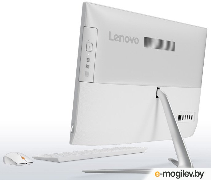 Lenovo IdeaCentre 510-23ISH 23 Full HD i5 7400T/4Gb/1Tb 7.2k/GF940M 2Gb/DVDRW/Windows 10/GbitEth/WiFi/BT/клавиатура/мышь/Cam/белый 1920x1080