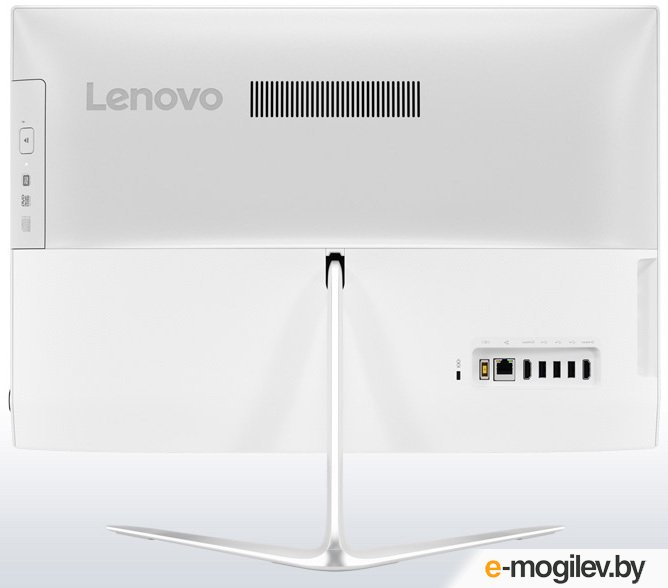 Lenovo IdeaCentre 510-23ISH 23 Full HD P G4560T/4Gb/500Gb 7.2k/DVDRW/Windows 10/GbitEth/WiFi/BT/клавиатура/мышь/Cam/белый 1920x1080