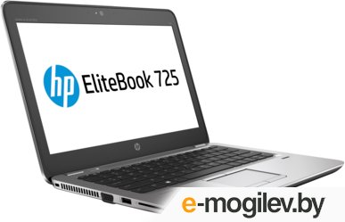 HP EliteBook 725 G3 (P4T47EA) 12.5(1366x768 (матовый))/AMD A8 PRO 8600B(1.6Ghz)/4096Mb/500Gb/noDVD/Int:AMD Radeon R6/Cam/BT/WiFi