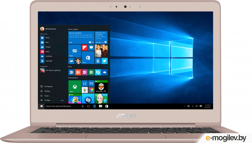 ASUS ZENBOOK UX330UA-FB141T Rose Gold 13.3QHD+/ i7-7500U/ 8G/ 256GSSD/ GMA HD/ W10