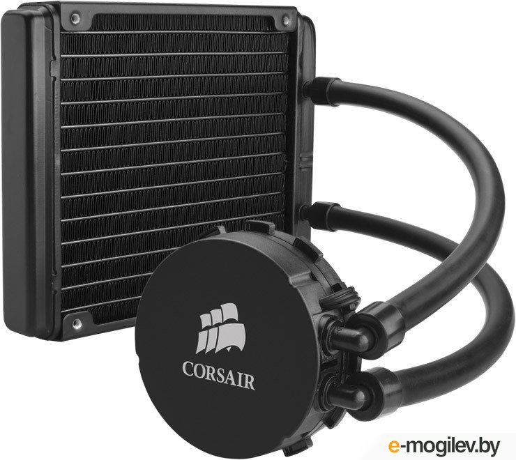 Система водяного охлаждения Corsair Hydro H90 140mm High Performance Liquid CPU Cooler (CW-9060013-WW) (S-2011/1150/1366/AM3+/FM2, 1500RPM, 35dBA, 94CFM, 4-pin, PWM) RTL