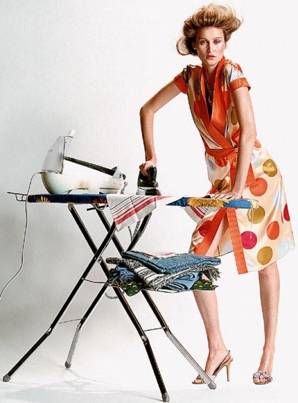 Дню защитника, девушка гладит белье смешные картинки