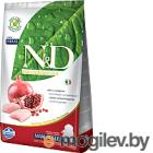 Farmina N&D Grain Free Chicken & Pomegranate Puppy Large 12кг